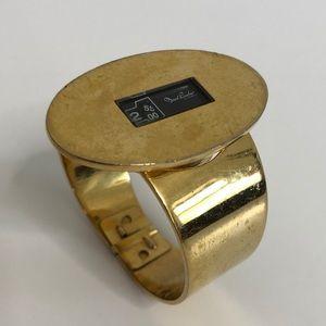 Vintage MARCEL BOUCHER gold watch bracelet Swiss
